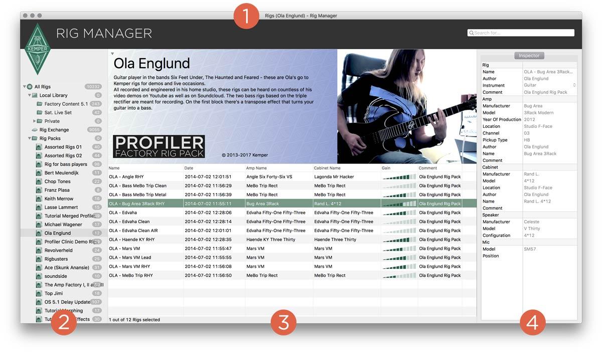 Kemper Profiler Power Head Remote Foot Controller Set Musicalbox Manager